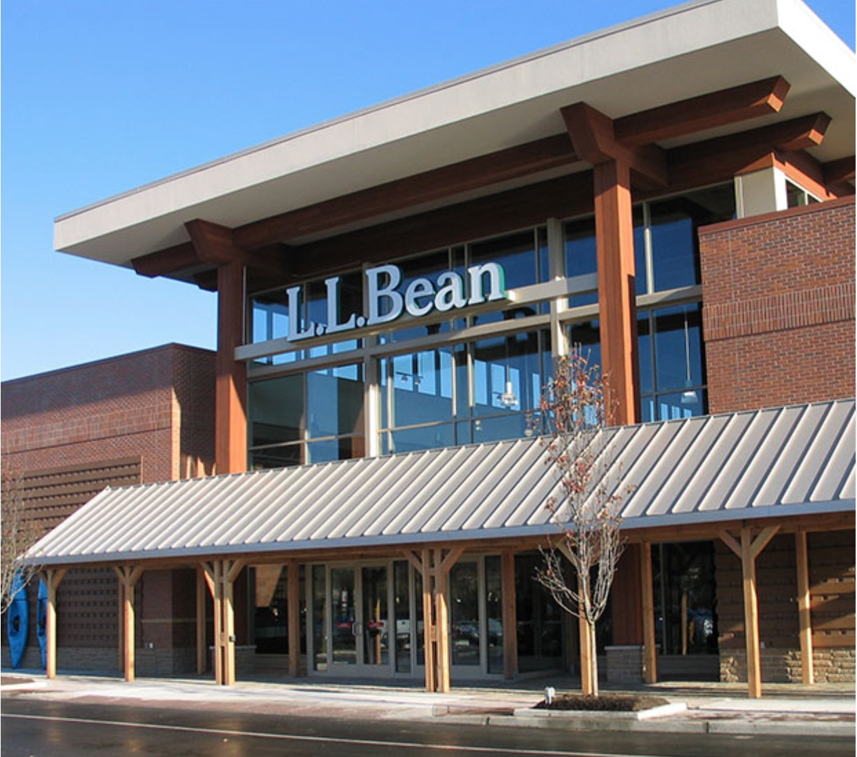 Photo of LL Bean store. ©L.L. Bean, Inc.