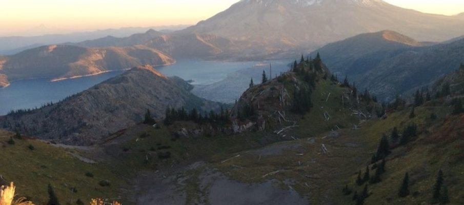 Photo of Mount Saint Helens ©2018 www.JeffRyanAuthor.com